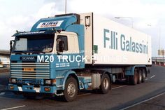 M20 Truck Photos - Scania 142h - F. Lli Galassini I #2. | eBay