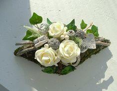 Weiteres - Grabgesteck, Allerheiligen, Gedenktag Raute Rosen - ein Designerstück…