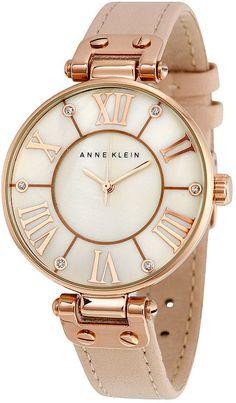 Anne Klein Pink Mother of Pearl Dial Ladies Watch 10-9918RGLP