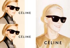 CELINE define your look with the zztop favourite of Kim kardashian no less shop the look at www.sendoptics.com