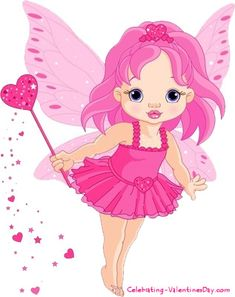 Pink fairy clipart
