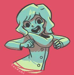 New avatar because I have short hair now U///U