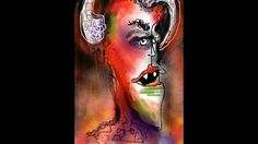 """I'm working on a """"devilish"""" project. Here is a sketch done on my iPad. Energy Drinks, Devil, Watercolor Tattoo, Ipad, Sketch, Videos, Projects, Sketch Drawing, Log Projects"""
