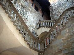 Are you scared of ghosts? Well, if you are, do not travel through italian castles. Haunted Castles, Scary Places, Young Men, Lighthouses, Ghosts, Around The Worlds, Stairs, Tower, Spirit
