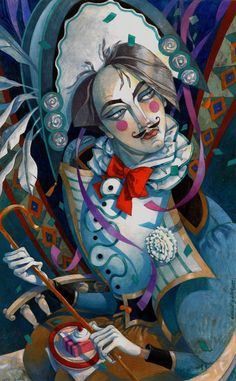 The Hungry Harlequin by David Galchutt