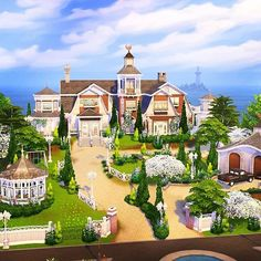 Sims 4 Houses, The Sims4, Sims 4 Mods, Gaming, Tower, Mansions, Architecture, House Styles, Search