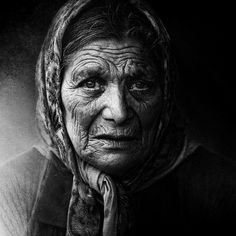 Lee Jeffries. I think that black and white portraiture photography is just beautiful. I mean look at how powerful this portrait is! There is no way, in my opinion, that a colour portrait could give such a powerful image.
