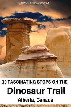 A guide on the fascinating things to see along the dinosaur trail in Alberta, including the best lookout spots and the famous hoodoos. Cool Places To Visit, Places To Travel, Places To Go, Alberta Canada, Colorado Springs, Lac Louise, Canada Vancouver, Alberta Travel, Canadian Travel