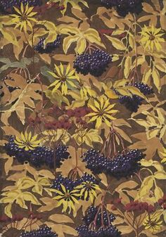 Charles Burchfield Wallpaper Design No. 1, 1922-28