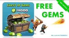 free gems and coins on clash of clans