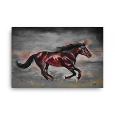 Night Thunder – x Canvas - By our very own artist Deborah Kala. For the first time the artist has experimented with modern digital enhancement techniques.Tell Deborah what you think in the comments section. Thunder, Moose Art, Hand Painted, Canvas Prints, Lifestyle, Night, Digital, Artist, Modern