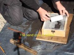 Metal Casting at Home Part 4 Backyard Foundry Sand Casting Aluminum, Metal Casting, Disaster Plan, Melting Metal, Metal Shop, Metal Projects, Diy Molding, Metal Fabrication, Mold Making