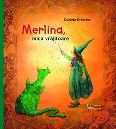 Merlina and the Magic Spell - Daniela Drescher - little witch reading Magic Spell Book, Magic Spells, Troll, Illustrator, Wooden Baby Toys, Green Toys, Natural Toys, Christmas Fairy, Waldorf Toys