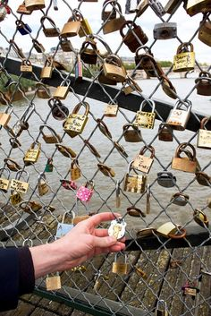 Locked our love on Pont des Arts and threw away the key. ... by Ana Maria M.