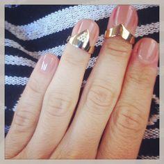 Nail rings by Danelian!