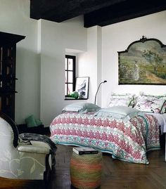 bedroom styling + textiles