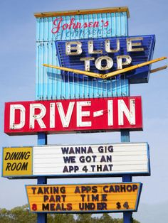 Blue Top Drive In ~ Gary, Indiana
