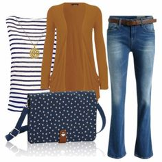 Thirty-One Gifts - The Double Up Crossbody in Navy Dancing Dot goes great with your favorite jeans! #BWbethwalls #organizeinstyle