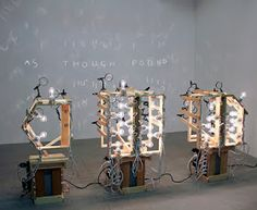 Dude Craft: Man of Letters - The Light Art of Ian Burns