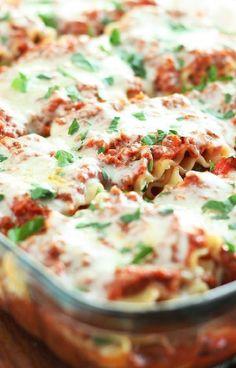 Low FODMAP and Gluten Free Recipe - La gran lasagna  -  http://www.ibssano.com/low_fodmap_recipe_la_gran_lasagna.html
