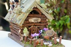 GNOME HOUSE by rdsoifer on Etsy, $150.00