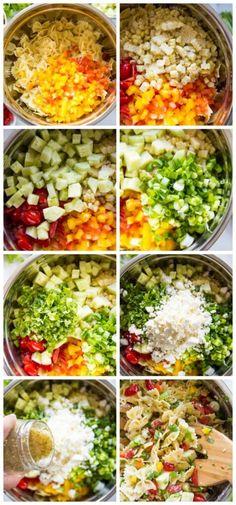 Best Salad Recipes, Pasta Recipes, Beef Recipes, Dinner Recipes, Cooking Recipes, Healthy Recipes, Noodle Recipes, Spicy Recipes, Casserole Recipes