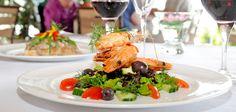 Prawn Salad. Lemongrass #seaside restaurant #plett Seaside Restaurant, Prawn Salad, Lemon Grass, Restaurants, Dining, Kitchens, Food, Shrimp Salad Recipes, Restaurant
