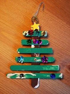 easy Christmas crafts for kids - toddlers/preschoolers