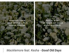 Macklemore - Good Old Days ft. Kesha