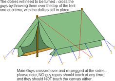 Very thorough instructions from GuidingUK- how to pitch an Icelandic tent To Build A Fire, Camping Blanket, Beavers, Songs To Sing, Camping Crafts, Scouting, Craft Activities, Natural Materials, Tents
