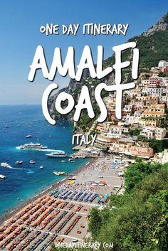 Amalfi Coast One Day Itinerary - Top things to do on Amalfi Coast, Italy