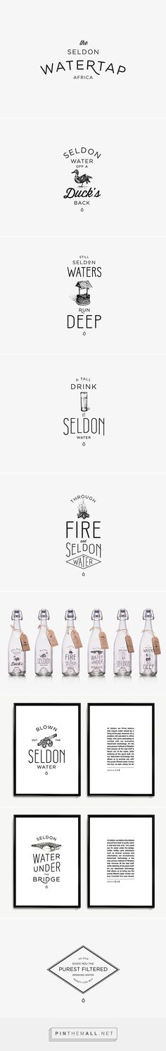 Seldon Water on Behance - created via http://pinthemall.net