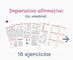 Ejercicios de gramática con verbos irregulares en presente Spanish Grammar, Spanish Vocabulary, Spanish 1, Spanish Lessons, Spanish Teaching Resources, Learning, Spanish Exercises, Teaching Spanish, Learn Spanish