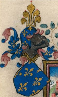 Jean II, dit Jean le Bon, roi de France (1319-1364). -- «The Hours of Catherine of Cleves (1417–1476)», by the Master of Catherine of Cleves, 1430, Northern Netherlands [Morgan, MS M.945].