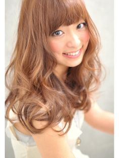 モーヴ MOABR. [MOAB-R.] シャルローラ☆ウェーブ Waves Curls, Beauty Corner, Bob Hairstyles, Asian Hairstyles, China Girl, Natural Curls, Perm, Cute Girls, Curly Hair Styles