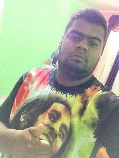 Dyoney Tatoo adoramos sua foto! Camiseta Bob Marley