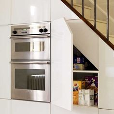 Understairs cupboards