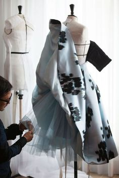 A moment on the red carpet, but months in the making - Vogue takes you inside the making of a red-carpet marvel