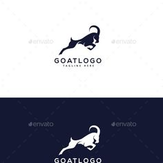 A Logo Graphics, Designs & Templates from GraphicRiver (Page Goat Logo, Logo Design, Graphic Design, Ski And Snowboard, Sheep, Goats, Doodles, Templates, Drawings