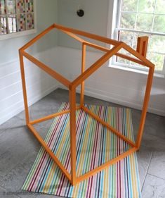 open frame kids play house