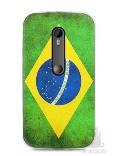 Capa Moto G3 Bandeira do Brasil - SmartCases - Acessórios para celulares e tablets :)