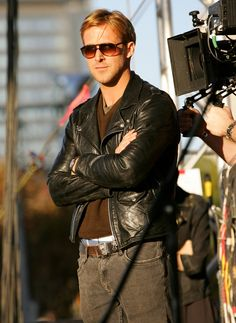 Ryan Gosling = too cool for school (in the best way possible)