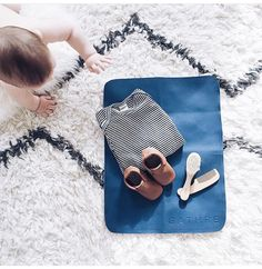 Best changing mat ever. Click through for more from gathre. Baby Shower Wishes, Baby Shower Gifts For Boys, Baby Boy Shower, Diaper Changing Pad, Changing Mat, Scandinavian Kids, Vintage Nursery, Baby Needs, Nursery Design