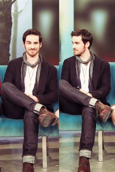 Colin O'Donoghue <-- I thought there were two of him for a second...this miiiiight be the wallpaper on my phone xP