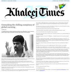 Dubai's No.1 Newspaper Khaleej Times talks about It's Tomorrow - The Film