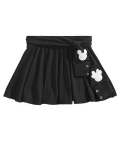 Disney Little Girls Mickey & Minnie Scooter Skirt Kids - Skirts - Macy's Minnie Mouse Skirt, Minnie Mouse Costume, Mickey Minnie Mouse, Minnie Mouse Silhouette, Disney Girls, Little Girls, Costumes, Stylish, Skirts