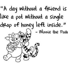Winnie The Pooh Quotes About Friendship Impressive Best 25 Heart Touching Winnie The Pooh Quotes  Friendship Bff