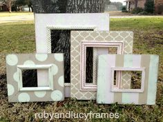 the lindsey collectiondistressed frame set in by rubyandlucyframes, $245.00