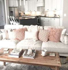 Adore the color theme of the couch!