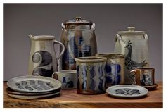 More salt glaze pottery from House Industries